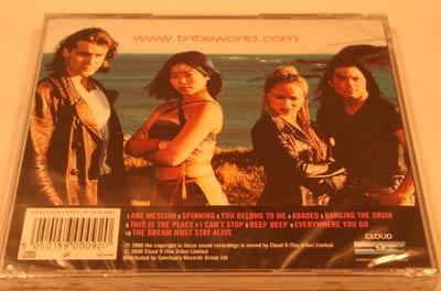 Abe Messiah Original Tribe CD Back