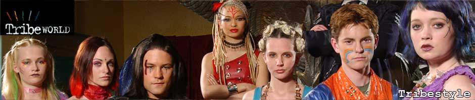 Tribestyle: Amber and Trudy's Kidnap Costumes from Series 3