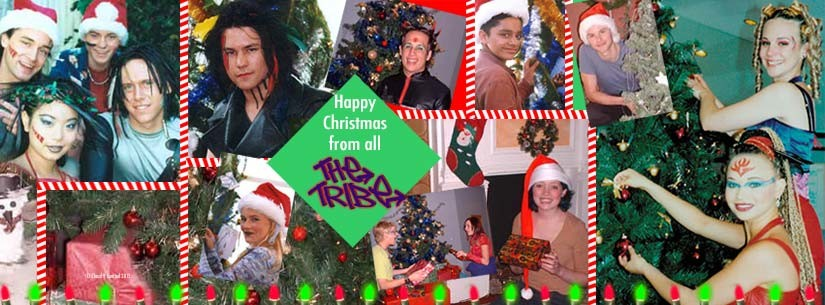 Series 4 Tribe Cast on Christmas