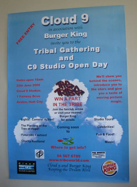 Tribe Gathering Open Day Poster
