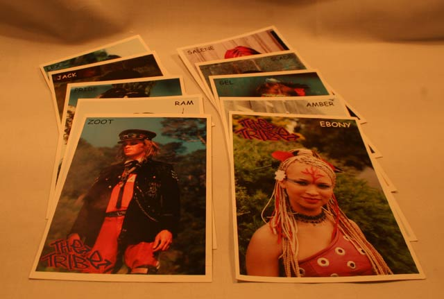 Tribe Postcard Set