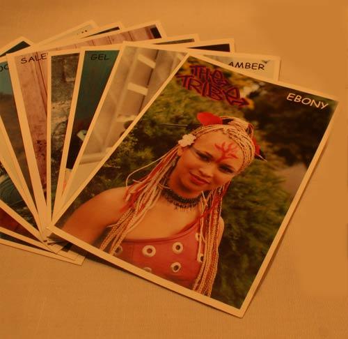 Tribe Postcards Individual Girls