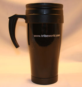 Tribe Thermal Travel Mug Back