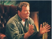 William Shatner in Cloud 9's A Twist in The Tale