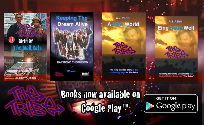 The Tribe books now on Google Play Store