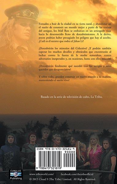 Back cover La Tribu: Un nuevo mundo
