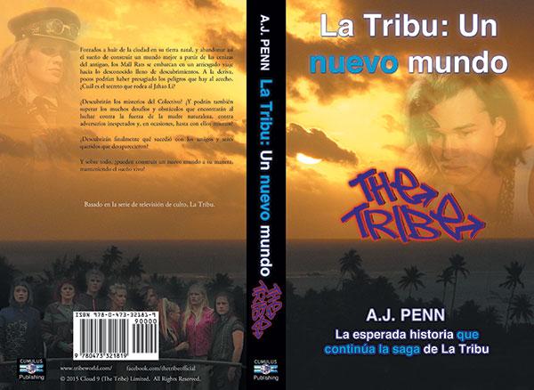 La Tribu: Un nuevo mundo front and back
