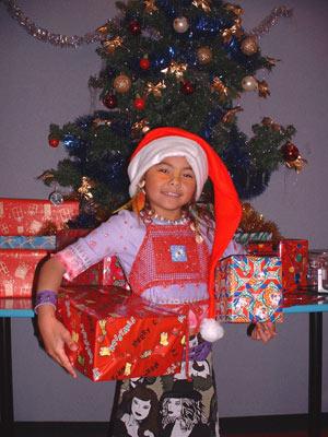 Jacinta Mouse Tribe Christmas
