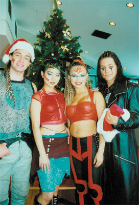The Tribe at Christmas